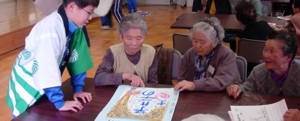 11月21日(月)、芋井公民館で「世代間交流」をテーマに「第3回ぬくもり広場」が行われました。  まずは、芋井保育園の園児の皆さんが、とってもかわいいダンスや歌の発表と、お年寄りの皆さんと一緒に手遊びなどで 交流し、続...