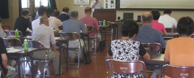 7月26日(土)、芋井農村改善センターで『人権尊重住民の集い』が開催されました。 人権委員会委員長 和田人権教育指導員の講話の後、人権啓発ビデオ「セピア色の風景」を観賞しました。 地区の皆様に参加していただき、すべての人...