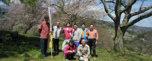 4月23日(土)、善光寺北側に連なる4つの山々を走り抜ける競技『ラウンドトレイル』が開催されました。  住民自治協議会では、今年も葛山の頂上で参加者の皆さんに「芋井のリンゴジュース...
