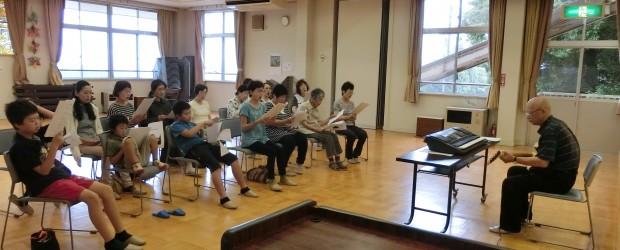 7月28日(木)「おやき講座」の終了後、午後から「唱歌・童謡を歌う講座」を芋井公民館にて開催しました。 中高年には懐かしい唱歌・童謡ですが、小中学生はほとんど知らなくて、 今の学校では童謡や唱歌は歌わないことにびっくりし...