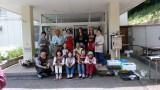 5月30日(水)芋井公民館前の広場で、「苔玉作り講座」が開催されました。 初夏の爽やかさを感じる講座で、苔ガール?の皆様にお手伝いいただき癒やされた一時を過ごす事できました。