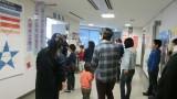 3月19日(月)、こどもの社会見学が開催されました。 中央消防署・長野市役所(危機管理防災課、議場)・長野市芸術館・信濃毎日新 聞社製作センターの見学をしました。