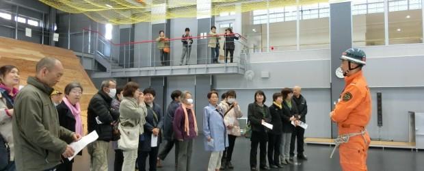 3月13日(火)おとなの社会見学が開催されました。 長野市中央消防署・県庁(防災対策室・県警本部)・マルコメ㈱の視察見学をし ました。
