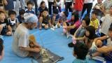 8月8日(木)子ども体験教室(in芋井)を開催しました。 城山地区の子供達が芋井に来て、芋井地区の子供たちと交流をし、 午前中は、竹林整備を進める会の方々に小刀の使い方を教わりながら芋井地区の竹 でお箸づくりをしました。...