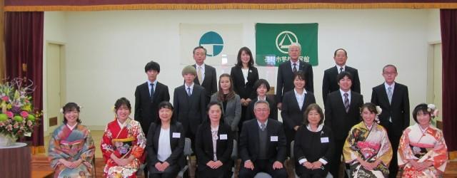 芋井地区 成人祝賀式 令和3年1月3日(日)開催しました。